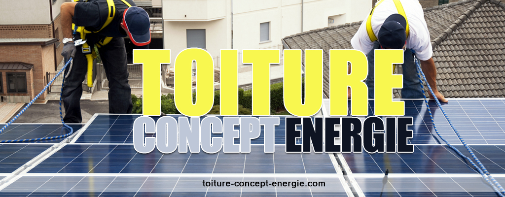 Toiture concept energie